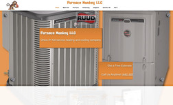 Furnace Monkey Great project designing an updated website for a h...