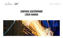 Ege Zımpara Zımpara şirketi için web sitesi