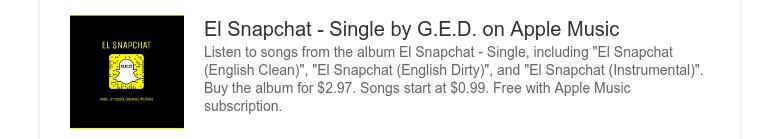 https://itunes.apple.com/us/album/el-snapchat-single/id1243327501