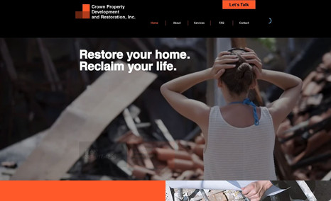 Crown Restorations Florida-based restoration and remediation experts.
