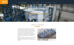 Pressline Services A eye-catching landing page to showcase our client...