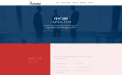 Aksioma - A Venture Capital Firm A complete new website and logo for Aksioma.tech -...