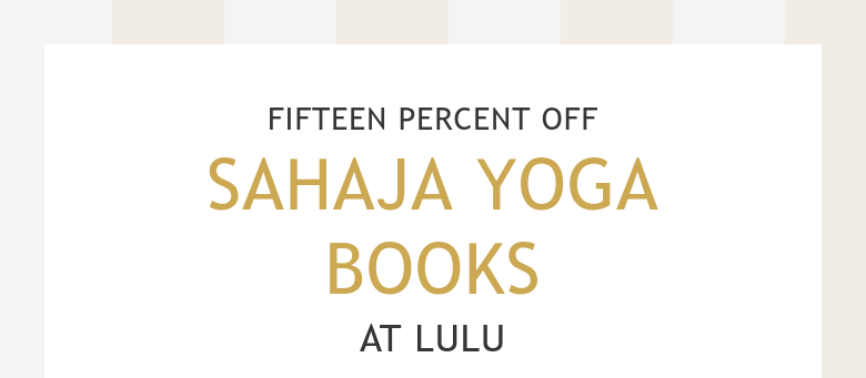 FIFTEEN PERCENT OFFSAHAJA YOGA BOOKSAT LULU