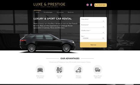 Luxe & Prestige Location de voiture de luxe, Cannes, France.