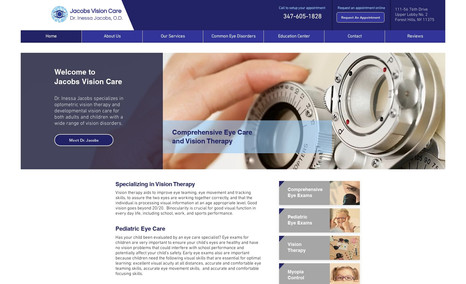 Jacobs Vision Care Dr. Inessa Jacobs specializes in optometric vision...