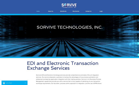 Sorvive Technologies Inc Sorvive does EDI and Electronic Transaction Servic...