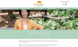 SunUp Yoga I completely redesigned Elaine's yoga and meditati...