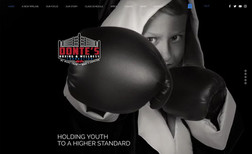 Donte's Boxing Foundation From the gym where he teaches boxing, Donte has la...