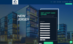 NJ Direct Property Buyers Website built for real estate buying company. The ...