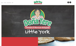 tdt-little-york Restaurant Website with custom design and video. O...