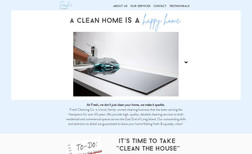 Fresh Cleaning Company For a cleaning company based in Sagaponack, NY.