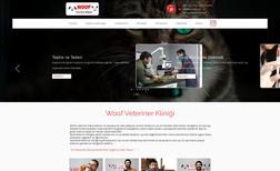 Woof Veteriner Kliniği Veteriner Kliniği Web Sitesi