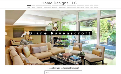 Homedesign staging A beautiful site which showcases the work of an in...