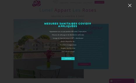 appart-lunel Site de location saisonnière en ligne avec intégra...